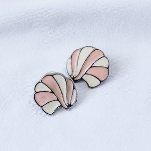 Vintage - Shell Earrings